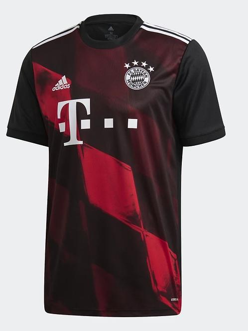 2020-2021 Bayern Munich Third Away Football Shirt