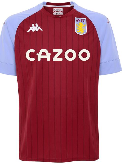 2020-2021 Aston Villa Home Football Shirt
