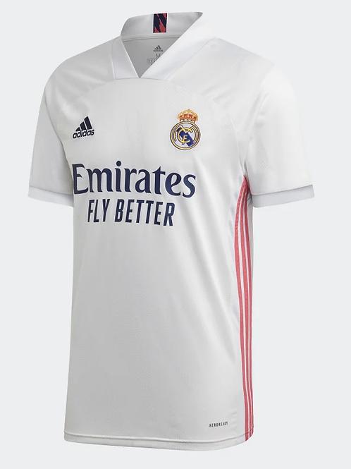 2020-2021 Real Madrid Home Football Shirt