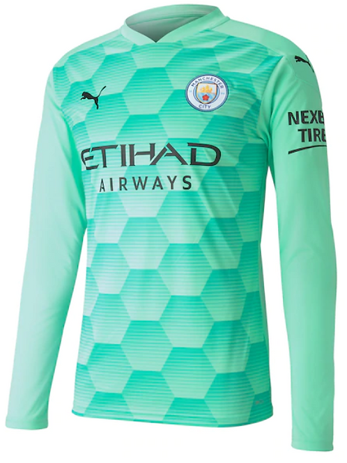 2020-2021 Manchester City Goalkeeper Away Football Shirt