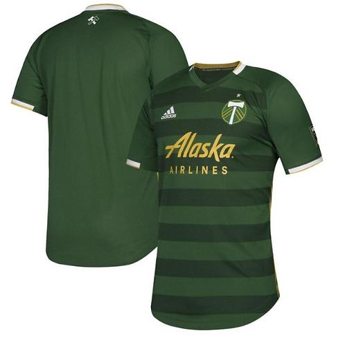 2019-2020 Portland Timbers Home Football Shirt