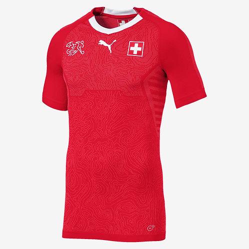 2018 Switzerland Home Football Shirt