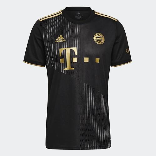 2021-2022 Bayern Munich Away Football Shirt
