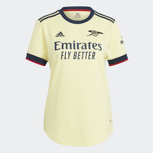 2021-2022 Arsenal Women's Away Football Shirt