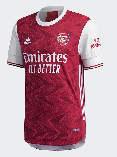 2020-2021 Arsenal Home Player Version Authentic Football Shirt