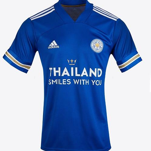 2020 - 2021 Leicester City Home Football Shirt