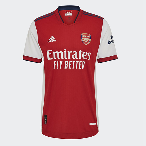 2021-2022 Arsenal Home Player Version Authentic Football Shirt