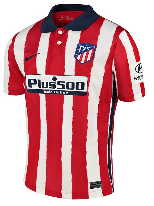 2020-2021 Atletico Madrid Home Football Shirt