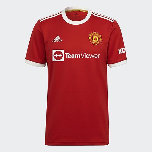 2021-2022 Manchester United Home Football Shirt
