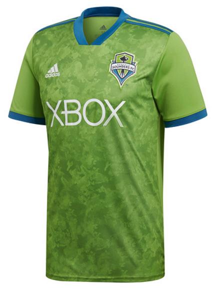 2018-2019 Seattle Sounders Home Football Shirt