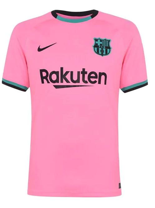 2020-2021 Barcelona Third Away Football Shirt