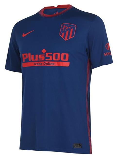 2020-2021 Atletico Madrid Away Football Shirt