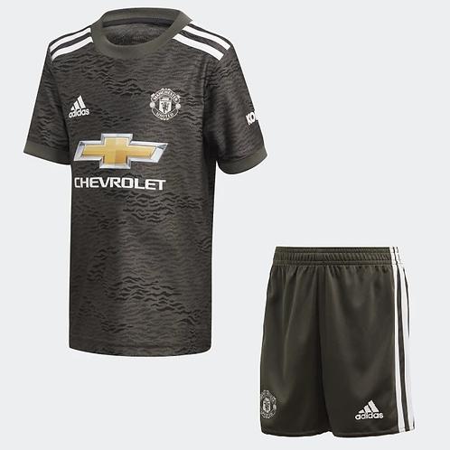 2020-2021 Manchester United Kid's Away Football Kit