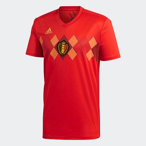 2018 Belgium Home Football Shirt