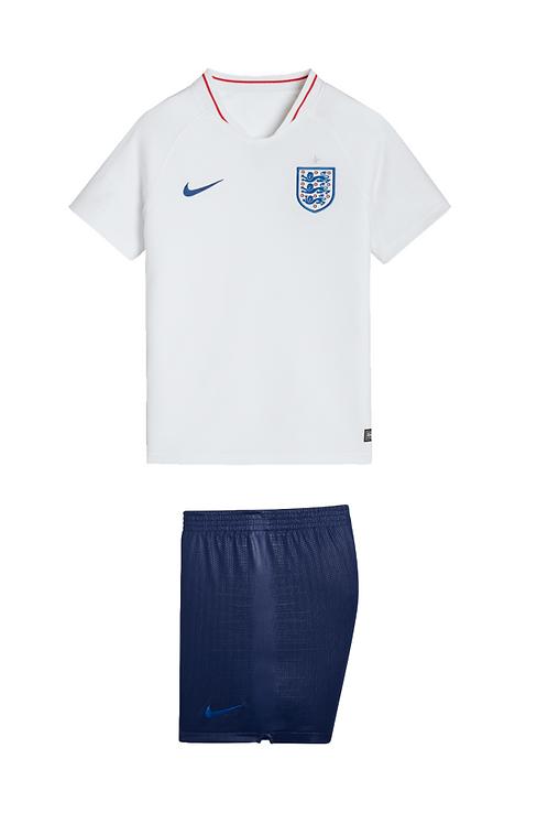 2018 England Home Kid's Football Kit