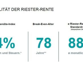 """""""Aller Unkenrufe zum trotz"""": Riester-Rente: Besser aufrüsten als abwracken"""