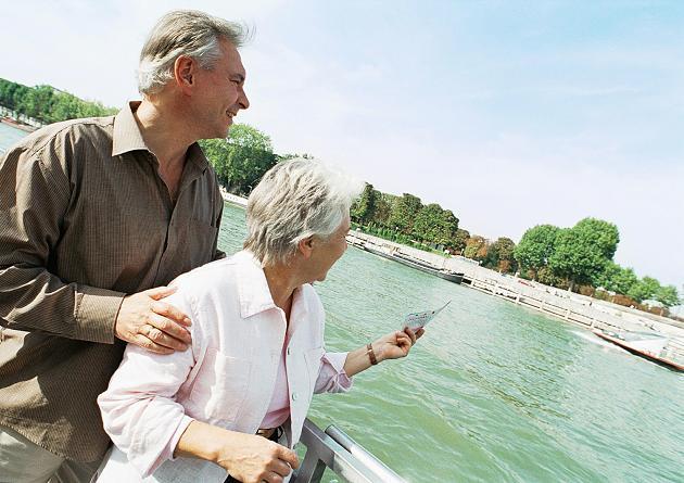 Glückliche Rentner im Ruhestand