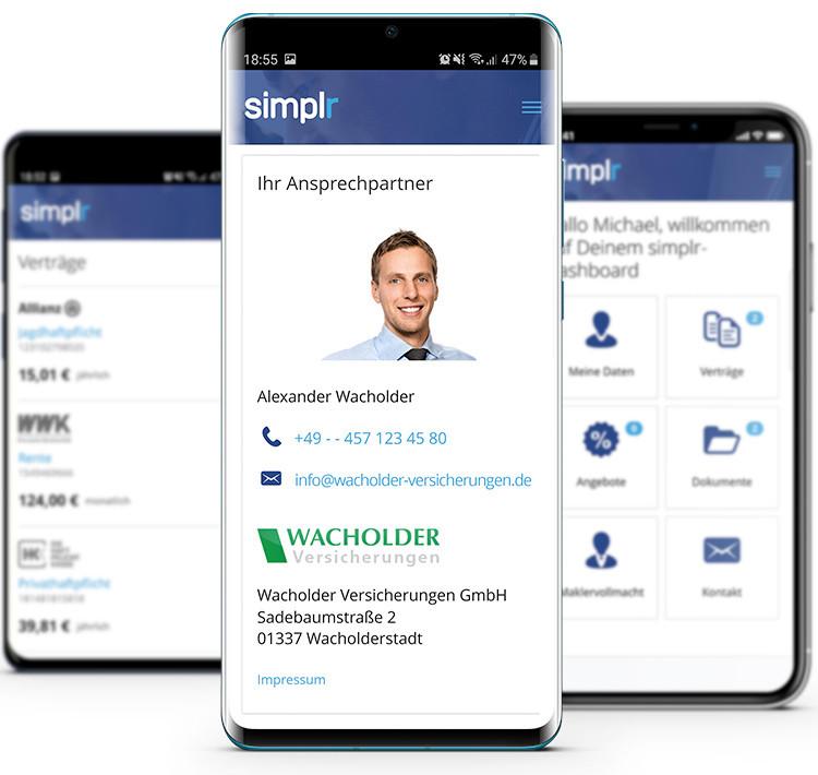 digitaler Kundenordner