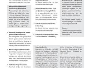 Änderungen in der Beihilfevorschrift Thüringen zum 01.01.2020