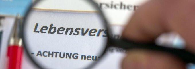 Lebensversicherung / Rentenversicherung: Widerruf prüfen