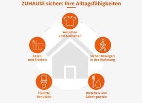 Neu: Dortmunder Versicherung - Mit ZUHAUSE die wichtigsten Alltagsfähigkeiten versichern