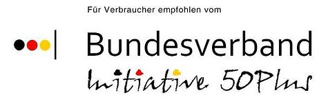 Zertifikat Bundesverband Initiative 50 P