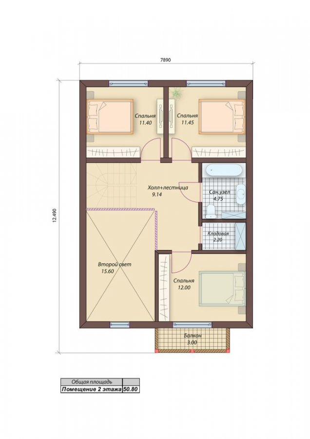2-й этаж