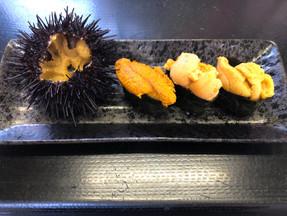 【亀田店】4種のうに食べ比べセット