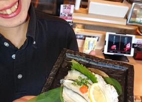 ことぶき寿司、横越店です!