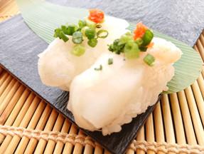 【横越店】ふぐのお寿司です