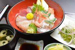 鮨寿 日替わり海鮮丼定食