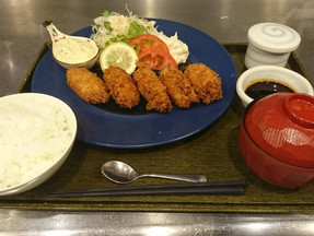 【期間限定メニュー】カキフライ定食