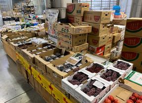 本社がある新潟市中央卸売市場