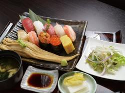 鮨寿 鮨三昧特上定食