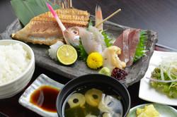 鮨寿 舟盛りお刺身定食