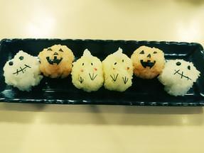 【横越店】お寿司屋さんだってちょっとハロウィン