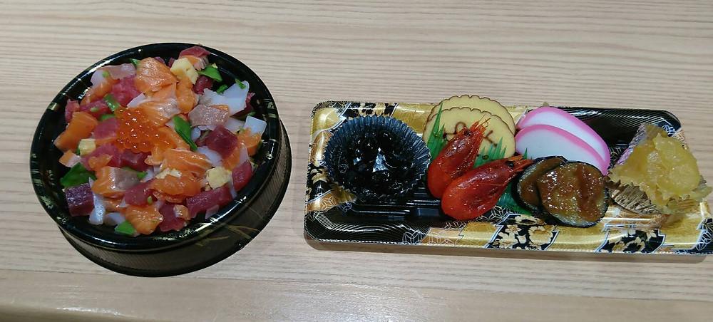 鮨ことぶきのお弁当です。