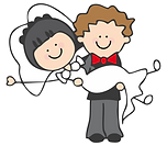 dark bride brunette groom logo.png
