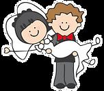 dark bride brunette groom logo.png