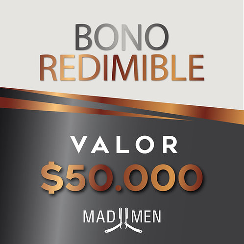Bono de Servicio $50.000