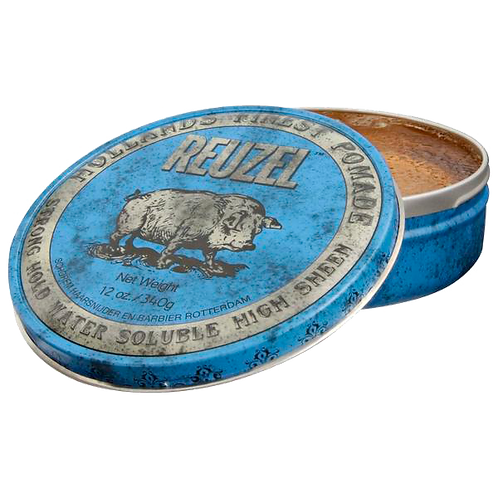 Strong Hold Blue Pomade 4oz