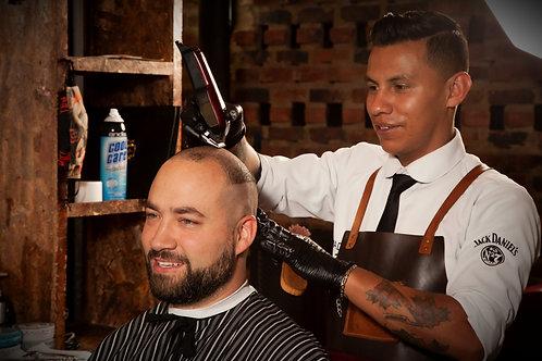 Corte y Trimming Barba Tradicional