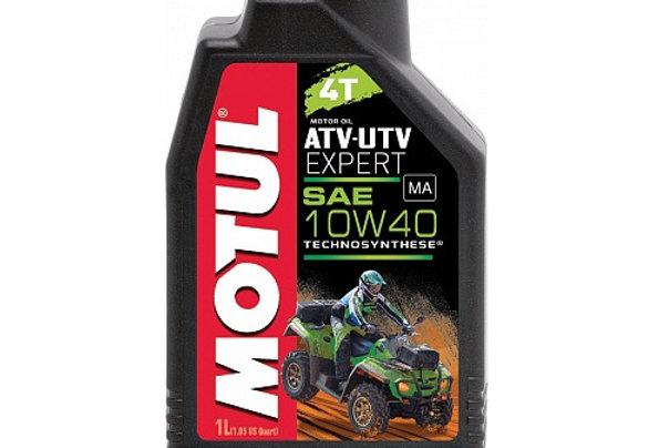 Моторное масло MOTUL ATV-UTV Expert 4T 10w40 1л