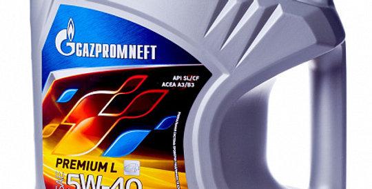 Моторное масло GAZPROMNEFT Premium L 5w40 4л