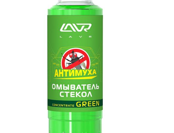 Омыватель стекол Антимуха Lavr Green 0,12 л