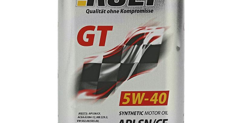 Моторное масло ROLF GT 5w40 1л