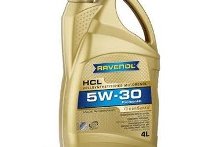 Моторное масло Ravenol HCL 5w30 4л.