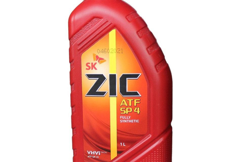 Масло автоматической коробки передач ZIC ATF SP-4 1л