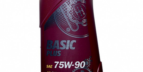 Масло ступенчатой коробки передач MANNOL Basic Plus GL 4+ 75w90 1л