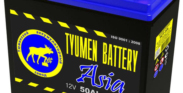 "50 о.п. Tyumen Battery ""ASIA"" 6CT-50L B24 410А (236*128*223)"